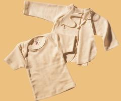 baby fl gelhemd bio wolle seide babysachen bei lebensfluss aus berlin. Black Bedroom Furniture Sets. Home Design Ideas