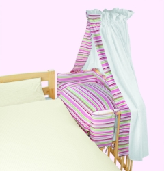 baby anstellbettchen pia lebensfluss berlin pinolino anstellbett massivholz fichte. Black Bedroom Furniture Sets. Home Design Ideas