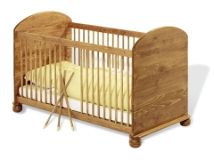 pinolino kinderbett benjamin lebensfluss kinderbetten babybett holz. Black Bedroom Furniture Sets. Home Design Ideas