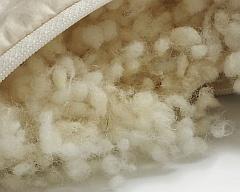 Füllung für Kissen Wollfüllung für Kopfkissen Füllmaterial aus 100/% Wolle