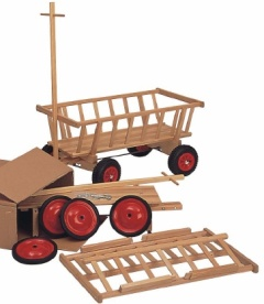 kinder bollerwagen handwagen bei lebensfluss spielzeug aus holz online bestellen. Black Bedroom Furniture Sets. Home Design Ideas