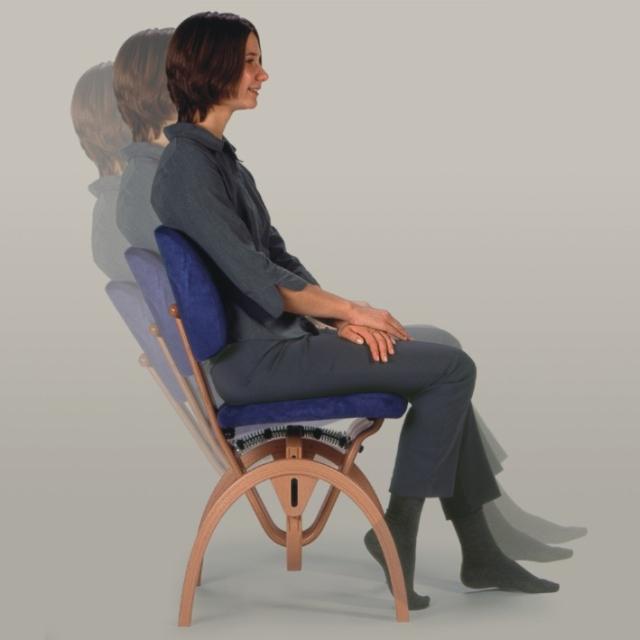 ergonomischer schreibtischstuhl mit rollen. Black Bedroom Furniture Sets. Home Design Ideas